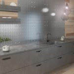 Kitchen wall panel