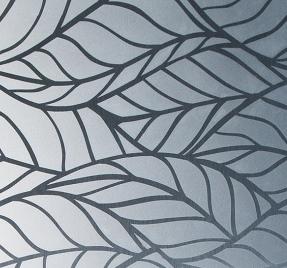 Рисунок сирень узорный лист